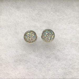 Beautiful White Earring Set